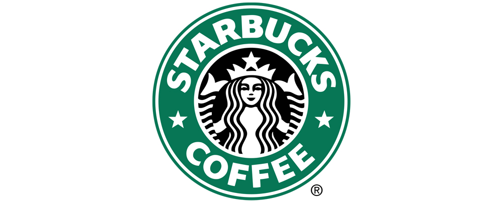 1992年に変更されたスターバックスロゴデザイン